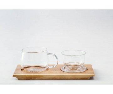 TEA SET WITH A  3in1 CUP