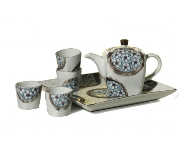 "Tea set ""Floral song"""